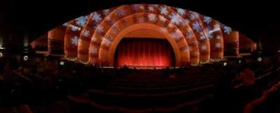 Radio City Music Hall, Abschnitt: Orchestra 4, Reihe: P, Platz: 411