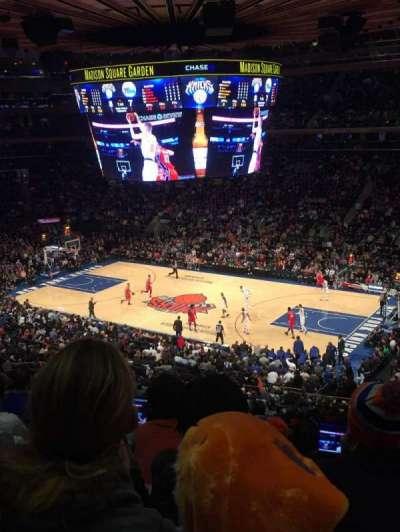 Madison Square Garden, Abschnitt: 213, Reihe: 6, Platz: 18