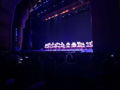 Radio City Music Hall, Abschnitt: Orchestra 2, Reihe: LL, Platz: 204