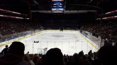Jacksonville Veterans Memorial Arena, Abschnitt: 108, Reihe: R, Platz: 9