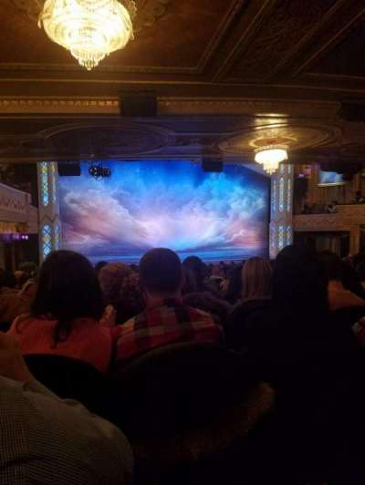 Eugene O'Neill Theatre, Abschnitt: Orchestra Left, Reihe: T, Platz: 11