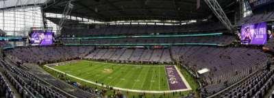 U.S. Bank Stadium, Abschnitt: 230, Reihe: 8, Platz: 23-24