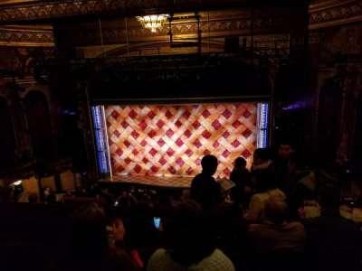 Brooks Atkinson Theatre, Abschnitt: Mezzanine, Reihe: H, Platz: 106