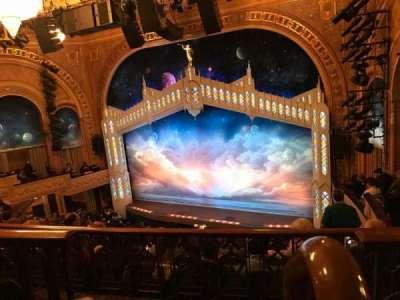 Eugene O'Neill Theatre, Abschnitt: Rear Right Mezzanine, Reihe: F, Platz: 2