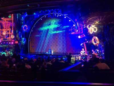 Palace Theatre (Broadway), Abschnitt: Orchestra, Reihe: O, Platz: 8
