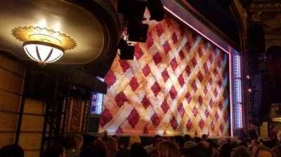 Brooks Atkinson Theatre, Abschnitt: ORCH, Reihe: F, Platz: 19