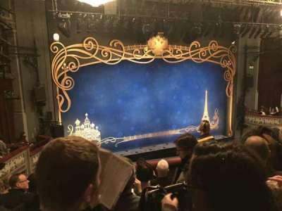 Broadhurst Theatre, Abschnitt: Left Mezz, Reihe: F, Platz: 9