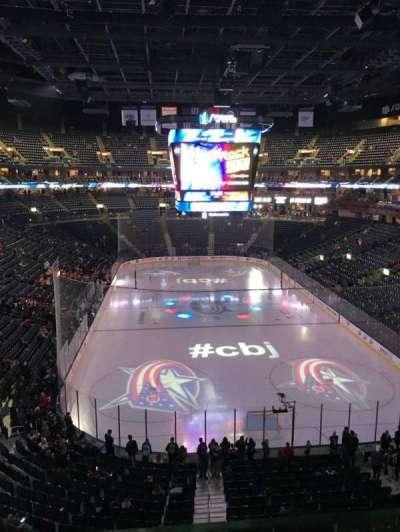 Nationwide Arena, Abschnitt: 225, Reihe: A, Platz: 1