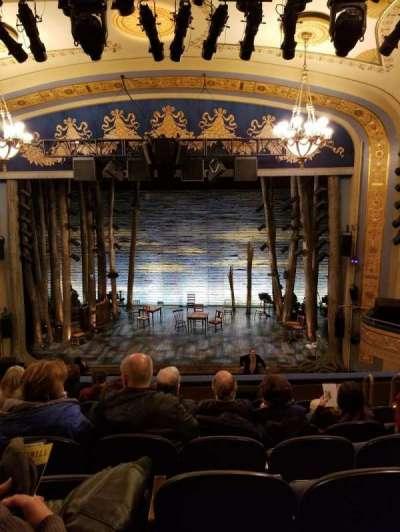 Gerald Schoenfeld Theatre, Abschnitt: Mezz, Reihe: G, Platz: 110