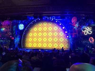 Palace Theatre (Broadway), Abschnitt: Orch center, Reihe: S, Platz: 124