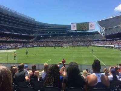 Soldier Field, Abschnitt: 150, Reihe: 7, Platz: 11