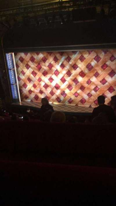 Brooks Atkinson Theatre, Abschnitt: Mezzanine, Reihe: E, Platz: 103