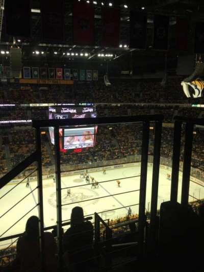 Bridgestone Arena, Abschnitt: 324, Reihe: G, Platz: 1