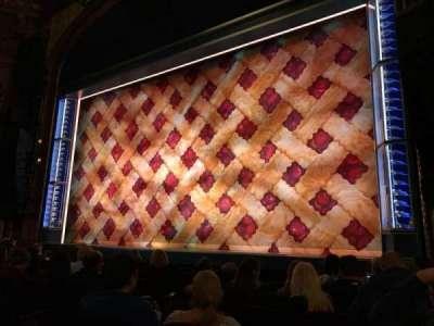 Brooks Atkinson Theatre, Abschnitt: OrchR, Reihe: G, Platz: 10