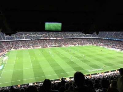 Camp Nou, Abschnitt: 331, Reihe: 35, Platz: 18