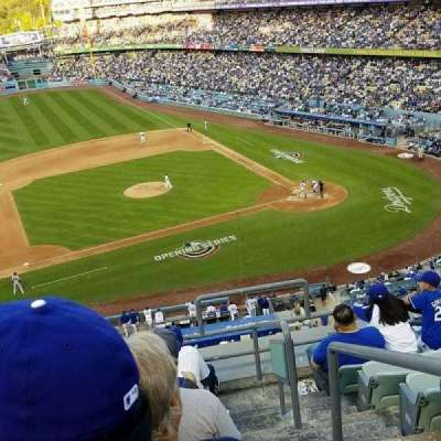 Dodger Stadium, Abschnitt: 19RS, Reihe: H, Platz: 2