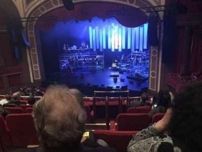 Broadway Theatre - 53rd Street, Abschnitt: Right Mezzanine, Reihe: F, Platz: 3