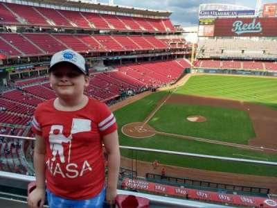 Great American Ball Park, Abschnitt: View Box 429, Reihe: A (first row i, Platz: 4