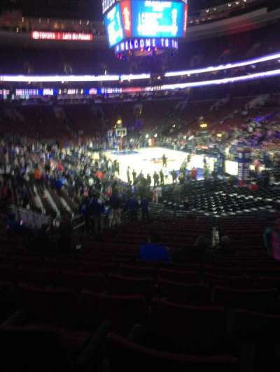 Wells Fargo Center Abschnitt 105