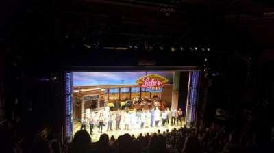 Brooks Atkinson Theatre, Abschnitt: MEZZ, Reihe: F, Platz: 127