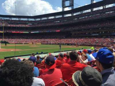 Busch Stadium, Abschnitt: 158, Reihe: 2, Platz: 11