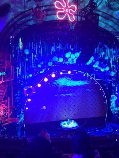 Palace Theatre (Broadway), Abschnitt: Mezz, Reihe: G, Platz: 5