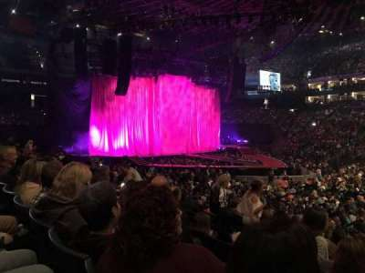 Oracle Arena, Abschnitt: 114, Reihe: 12, Platz: 1