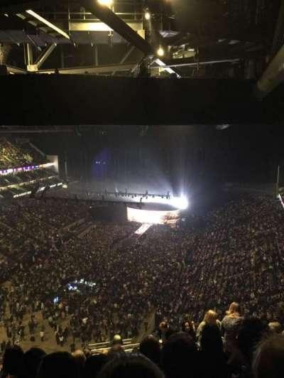 The O2 Arena, Abschnitt: 414, Reihe: S, Platz: 767