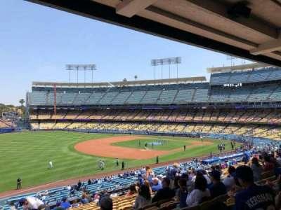 Dodger Stadium, Abschnitt: 155LG, Reihe: P, Platz: 4