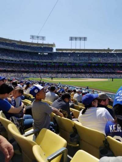 Dodger Stadium, Abschnitt: 46FD, Reihe: K, Platz: 9