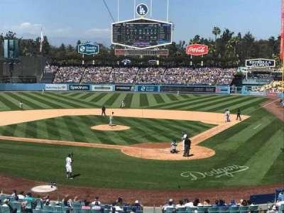 Dodger Stadium, Abschnitt: 111LG, Reihe: B, Platz: 1
