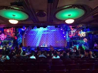 Palace Theatre (Broadway), Abschnitt: ORCH, Reihe: X, Platz: 112