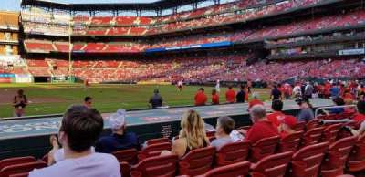 Busch Stadium, Abschnitt: 157, Reihe: F, Platz: 12