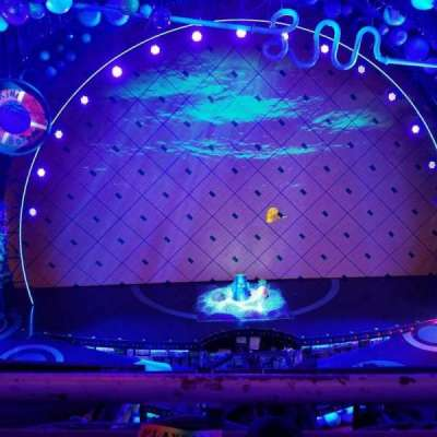 Palace Theatre (Broadway), Abschnitt: Mezzanine, Reihe: AA, Platz: 105