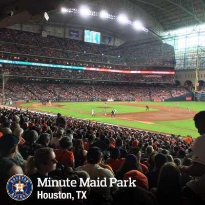 Minute Maid Park, Abschnitt: 129, Reihe: 36, Platz: 20