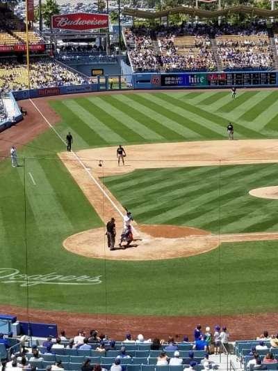 Dodger Stadium, Abschnitt: 118LG, Reihe: W, Platz: 2