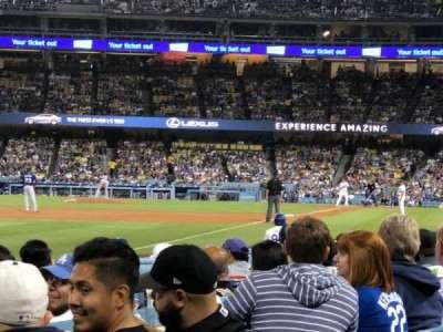 Dodger Stadium, Abschnitt: 45FD, Reihe: A, Platz: 20