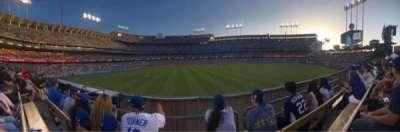 Dodger Stadium, Abschnitt: 308PL, Reihe: C, Platz: 7