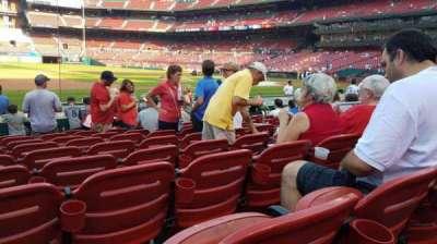 Busch Stadium, Abschnitt: 158, Reihe: 2, Platz: 8