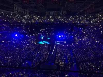 Capital One Arena, Abschnitt: 409, Reihe: A, Platz: 9