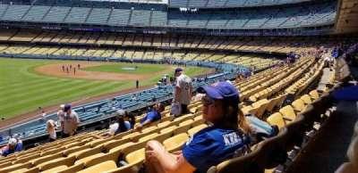 Dodger stadium, Abschnitt: 159LG, Reihe: K, Platz: 12