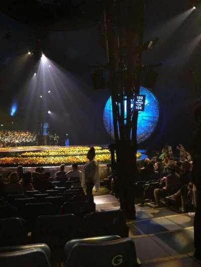 Cirque du Soleil - Luzia, Abschnitt: 202, Reihe: H, Platz: 13