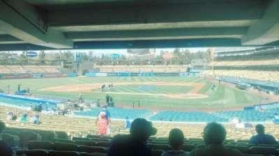Dodger Stadium, Abschnitt: 7FD, Reihe: DR, Platz: 4