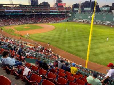 Fenway Park Bereich Right Field Roof Deck Box 31