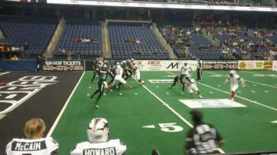 Greensboro Coliseum, Abschnitt: 106, Reihe: BB, Platz: 11