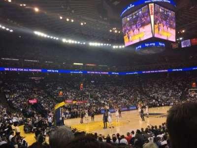 Oracle Arena, Abschnitt: 119, Reihe: 7, Platz: 5