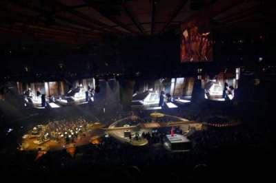 Madison Square Garden, Abschnitt: 223, Reihe: 8, Platz: 13