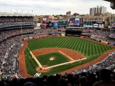 Yankee Stadium, Abschnitt: 419, Reihe: 12, Platz: 16