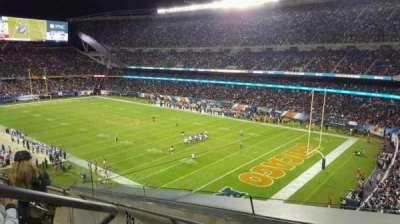 Soldier Field, Abschnitt: 302, Reihe: 5, Platz: 3
