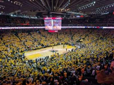 Oracle Arena, Abschnitt: M15, Reihe: 2, Platz: 3